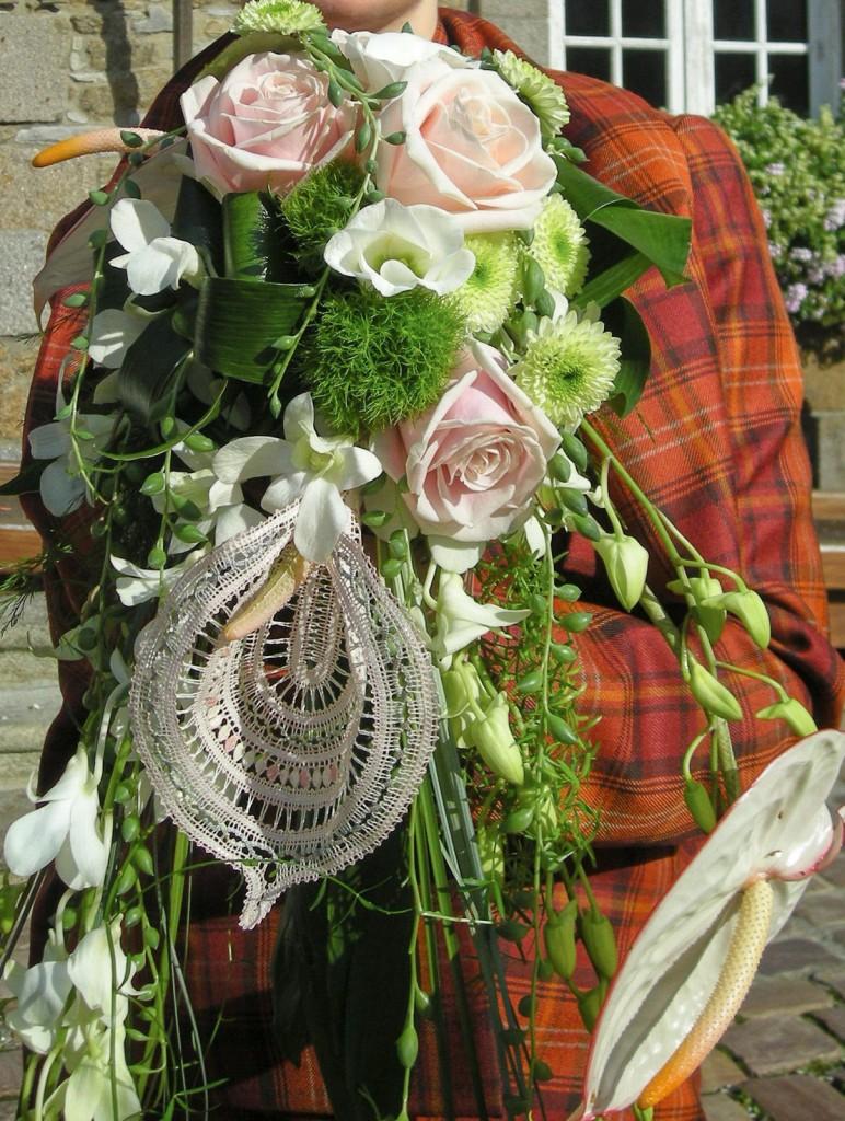 Bouquet Anthurium<br> Dentelle Russe